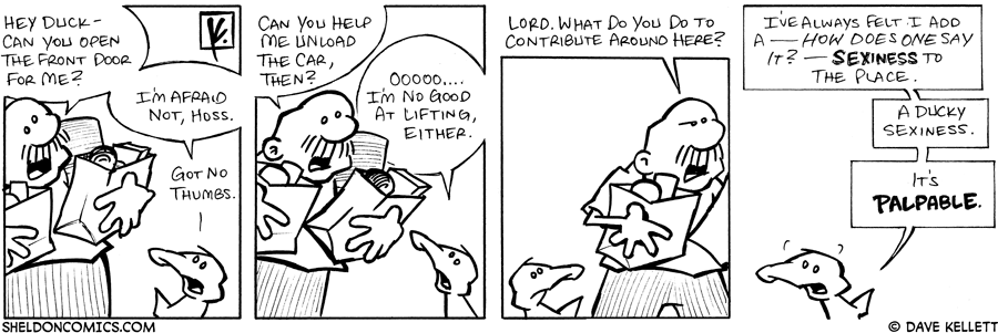 strip for August / 13 / 2007 - Arthur can't help Gramp because...