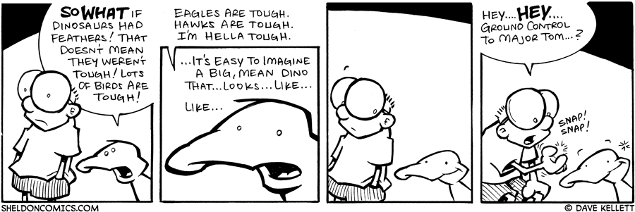 strip for September / 27 / 2007 - Arthur tries to make Sheldon feel better by...