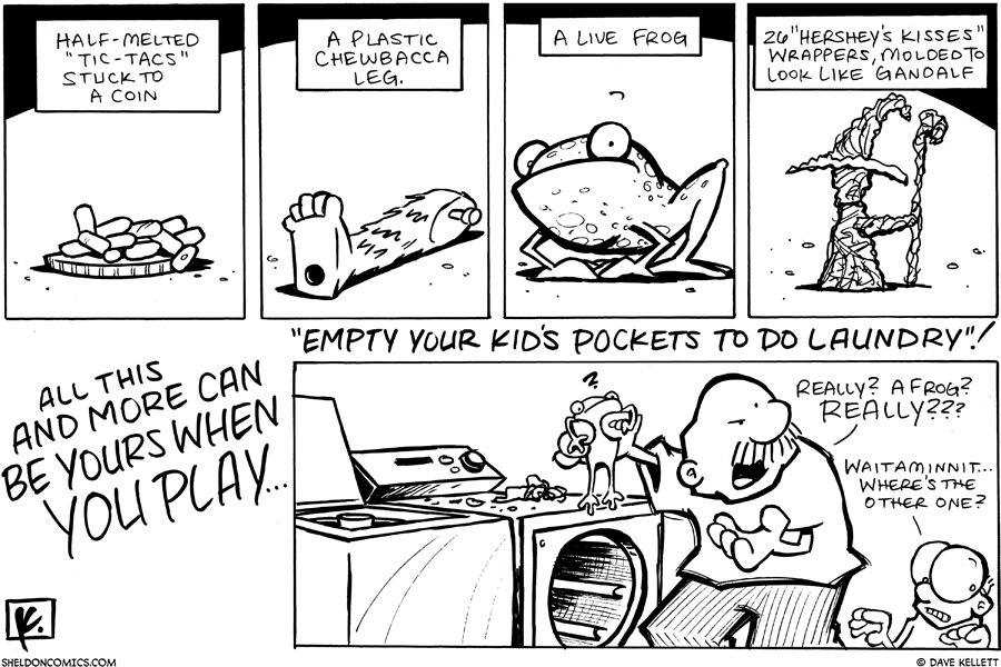 strip for October / 13 / 2007 - What you'll find when you...