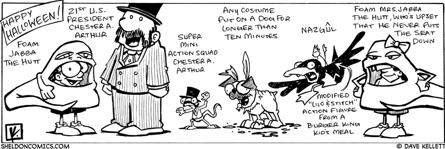 strip for October / 31 / 2007 - What is your Halloween costume?