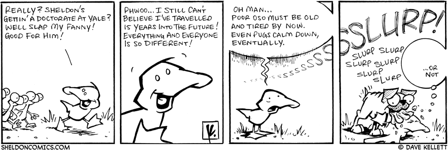 strip for November / 17 / 2007 - What does the future hold?
