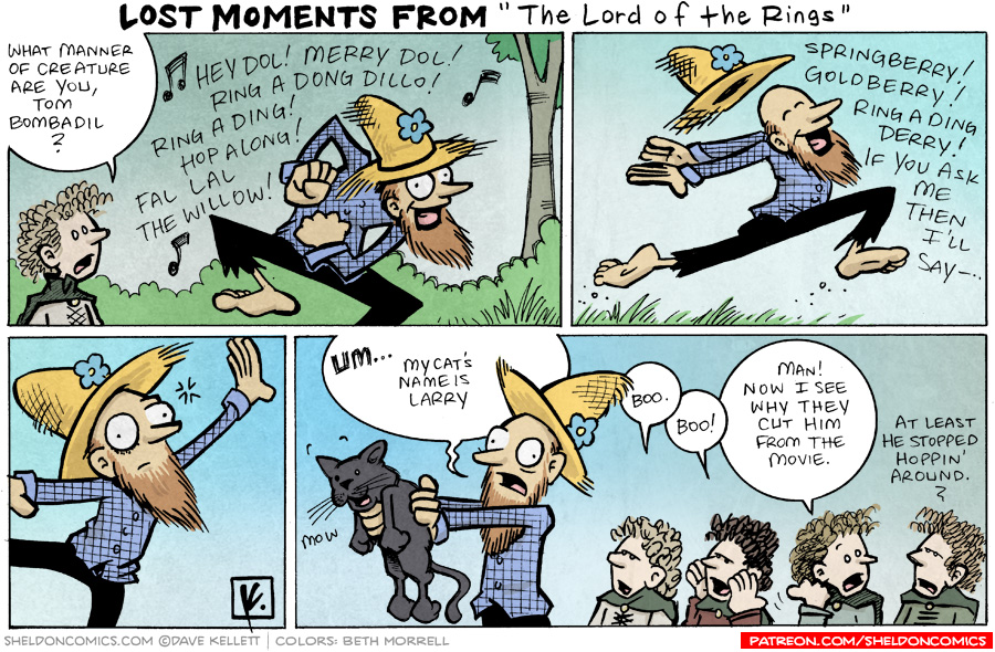 """strip for November / 30 / 2007 - What else did we miss from """"The Lord of the Rings?"""""""