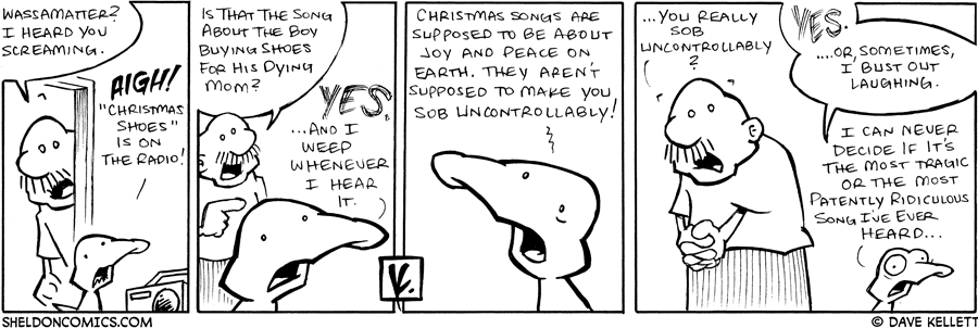 strip for December / 8 / 2007 - Why is Arthur screaming?