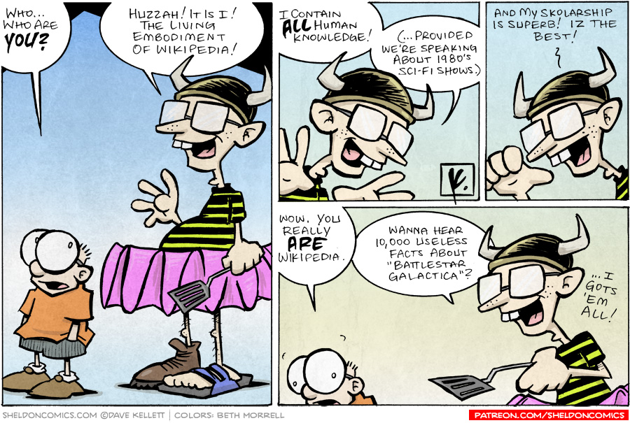 strip for December / 9 / 2007 - Who is this?