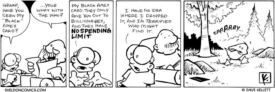 strip for December / 31 / 2007 - What is Sheldon worried about?