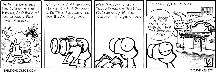 strip for January / 9 / 2008 - Will Flaco's search result in success?