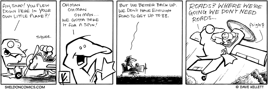 strip for January / 12 / 2008 - How do Arthur and Flaco get home?