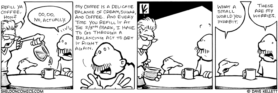 strip for January / 19 / 2008 - Will Gramp take a refill on his coffee?