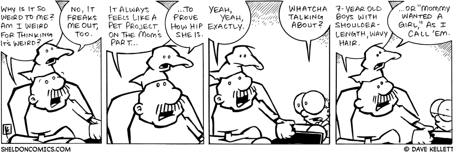 strip for February / 2 / 2008 - What is Gramp and Arthur discussing?