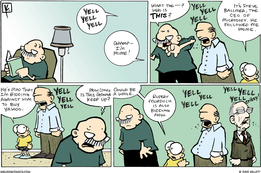strip for February / 17 / 2008 - What is Gramps upset about?