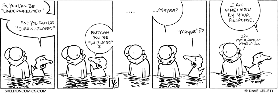 "strip for February / 22 / 2008 - Can you be ""Whelmed?"""