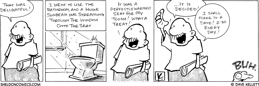 strip for March / 15 / 2008 - What was delightful for Gramps?