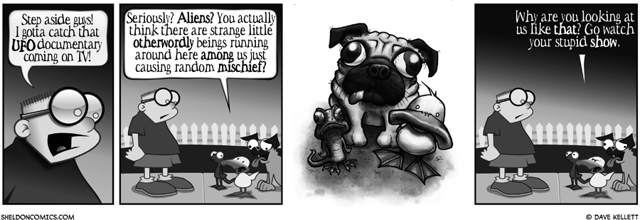 strip for April / 24 / 2008 - What would Tyler Martin of Mindfacucet's Sheldon look like?