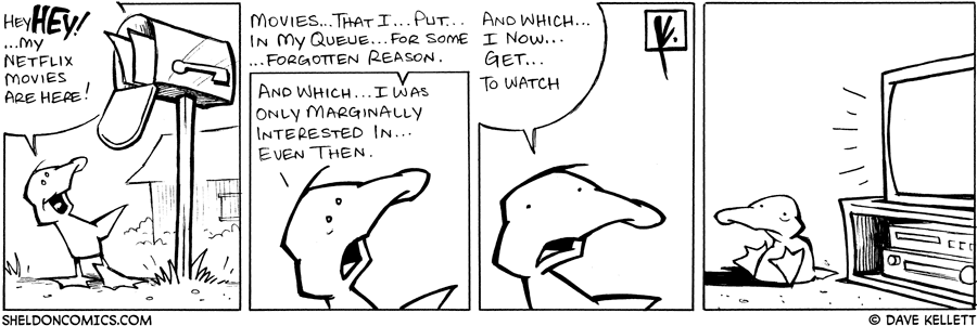 strip for April / 30 / 2008 - What does Arthur get in the mail?