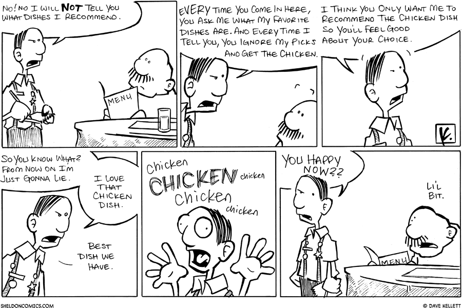 strip for May / 5 / 2008 - What would you recommend?
