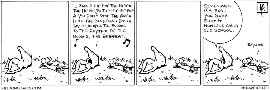 strip for May / 6 / 2008 - Arthur starts to sing...