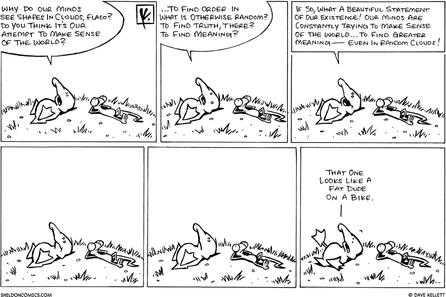 strip for May / 7 / 2008 - What does Arthur and Flaco see when looking up at the sky?
