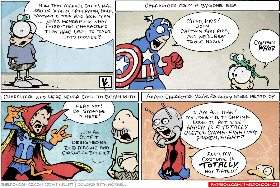 strip for May / 11 / 2008 - What else will Marvel Comics make?
