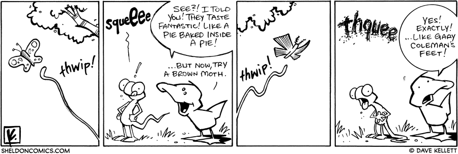 strip for May / 16 / 2008 - Will Flaco agree with Arthur?