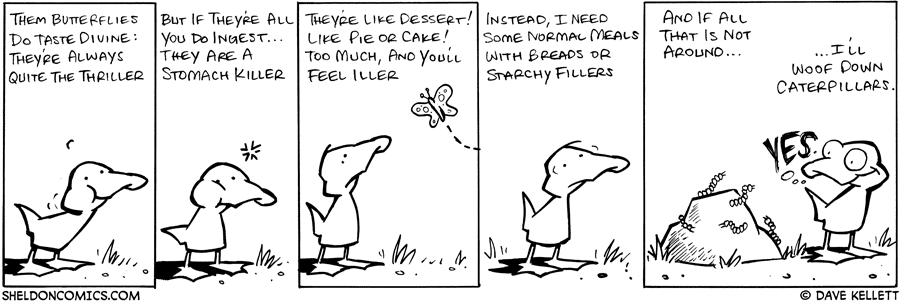 strip for May / 17 / 2008 - What does Arthur think about bugs?