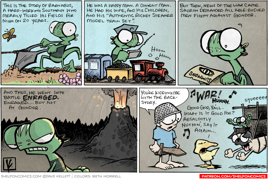 strip for June / 3 / 2008 - What is Flaco's character's backstory?