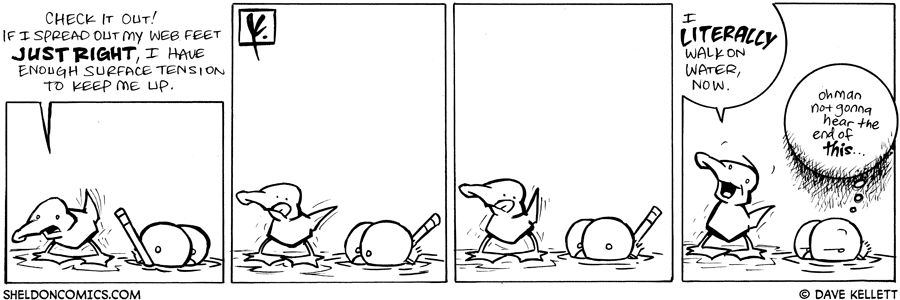 strip for June / 16 / 2008 - What wonderful thing does Arthur discover?
