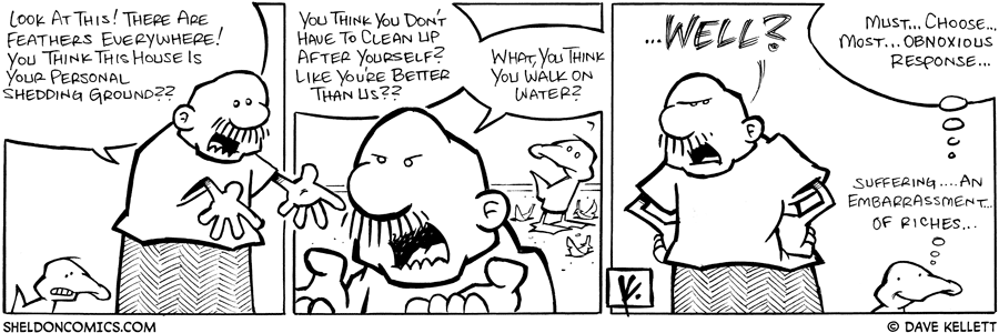 strip for June / 19 / 2008 - Why is Gramp upset at Arthur?