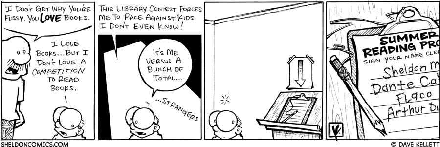 strip for June / 27 / 2008 - Why is Sheldon so fussy?