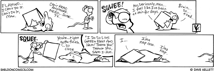 strip for July / 4 / 2008 - What can't Arthur do?