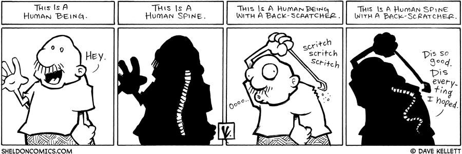 strip for July / 8 / 2008 - What is Gramp doing?