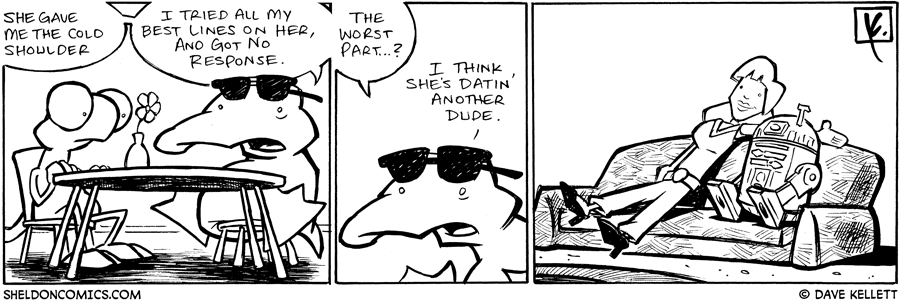 strip for July / 12 / 2008 - Why is Arthur so sad?