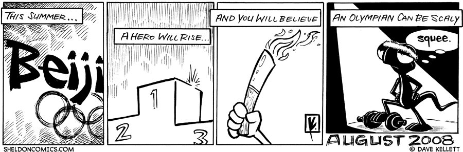 strip for July / 17 / 2008 - What will happen in the summer?