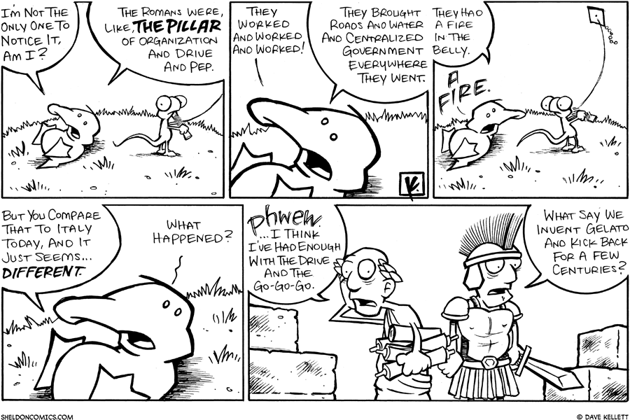 strip for July / 27 / 2008 - Is Arthur the only one to notice it?