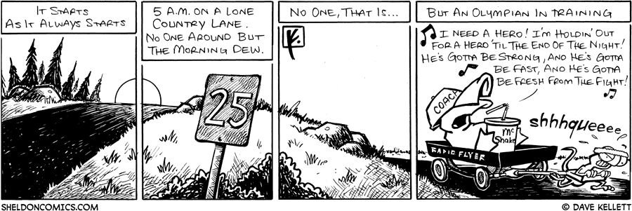 strip for July / 29 / 2008 - What starts as it always starts?