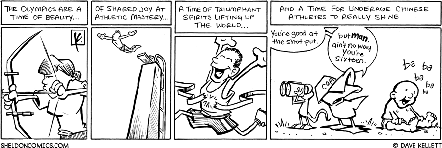 strip for August / 15 / 2008 - What are the Olympics?