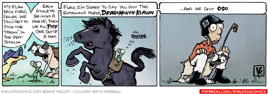 strip for August / 22 / 2008 - Which horse do they get?