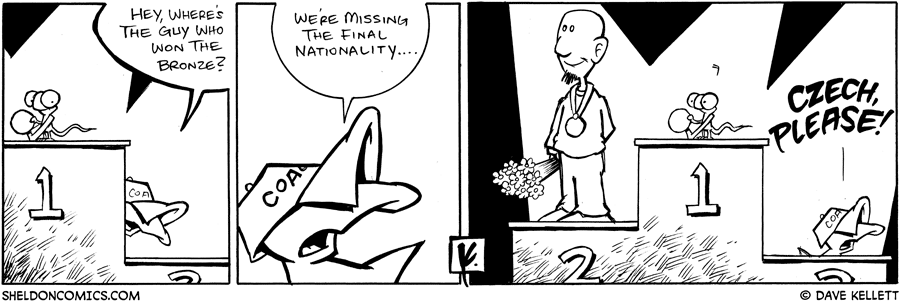 strip for August / 26 / 2008 - Who won the Gold?