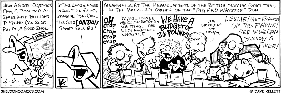strip for August / 27 / 2008 - If the 2008 games were this good...