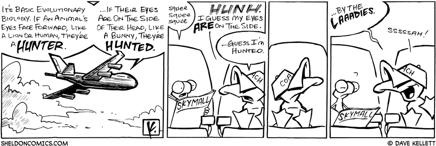 strip for August / 28 / 2008 - What is basic evolutionary biology?