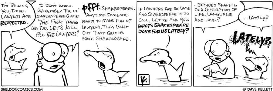 strip for September / 20 / 2008 - Are lawyers respected?