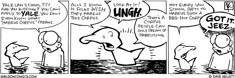 strip for September / 22 / 2008 - Where does Arthur want to go to law school?