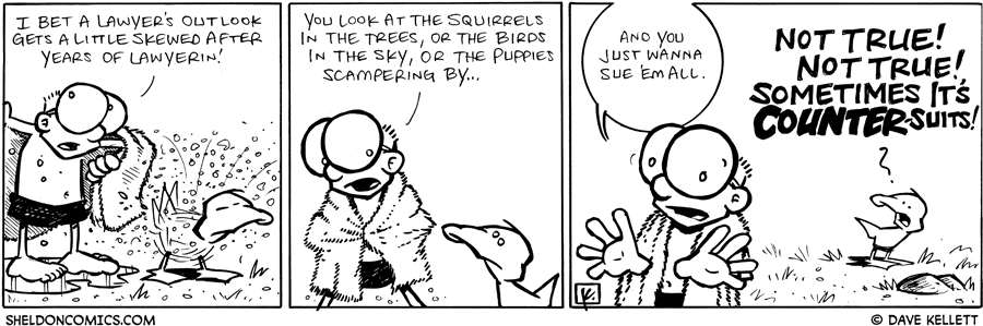 strip for September / 23 / 2008 - What happens to a lawyer after law school?
