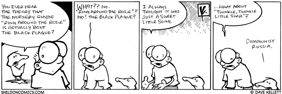 strip for November / 10 / 2008 - What's that song really about?