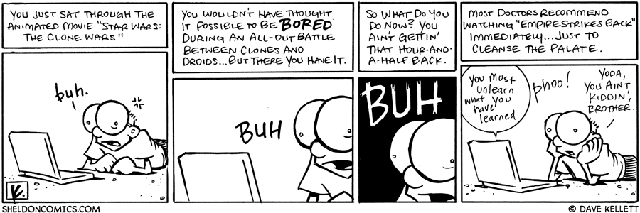 strip for November / 15 / 2008 - You just sat through...