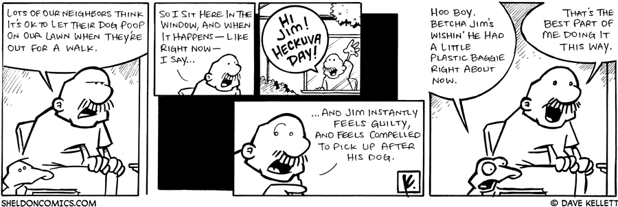 strip for November / 17 / 2008 - What is Gramp's solution?