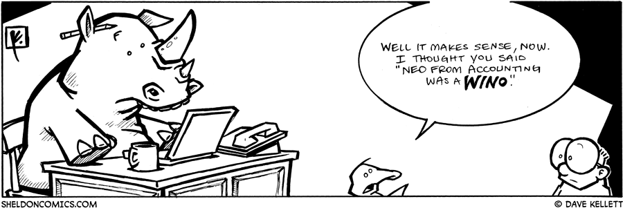 strip for November / 26 / 2008 - Who is Ned?