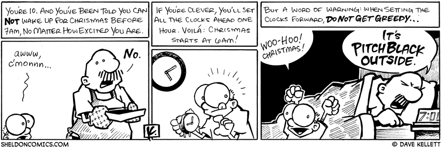 strip for December / 25 / 2008 - When you're 10, you've been told...