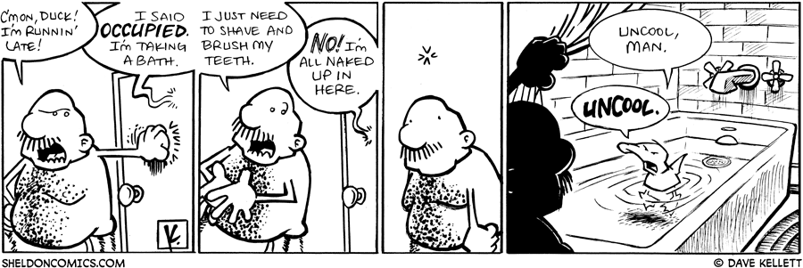 strip for January / 8 / 2009 - Gramp is running late and Arthur...