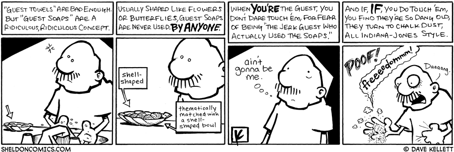 strip for February / 25 / 2009 - What's it like to be a guest?