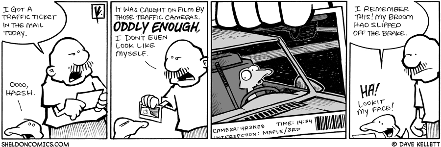 strip for March / 3 / 2009 - What did Gramp get in the mail?